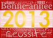 2013 Bonne Année Or