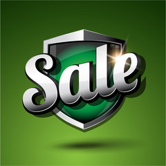 Sale shield green