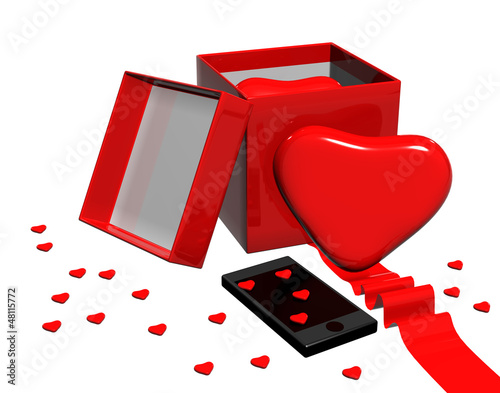 To gift your heart,phone