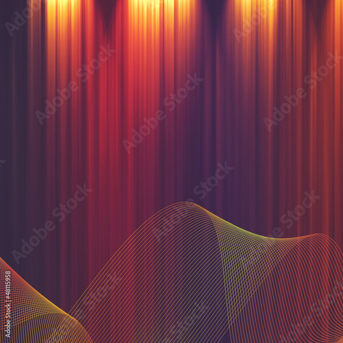 Abstract illuminated striped backgrounds for your design
