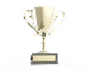 Trophy design element