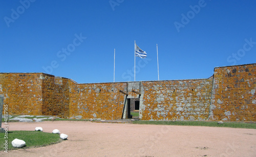 Uruguay, historic San Miguel Fort, Chuy border with Brazil