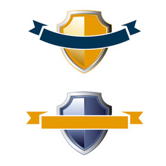 shield ribbon icons