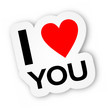 Sticker - I Love You (I)