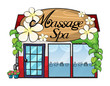 A massage spa