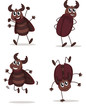 Smiling beetles