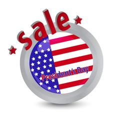 president's day sale label
