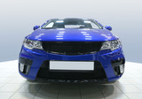 car in motor show