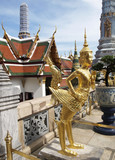 Fototapety Grand palace in Bangkok, Thailand