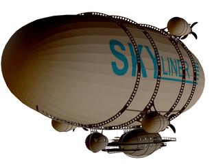 Zeppelin Rückseite
