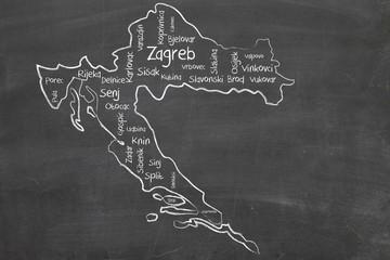 croatia word cloud