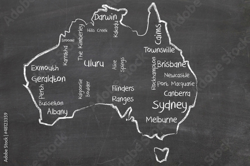 australia word cloud