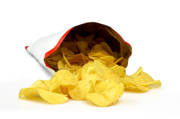 Chips out bag