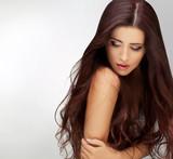 Long Hair. Good quality retouching poster