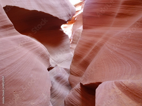 Abstract curves of Antelope Canyon