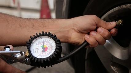 tire air pressure control