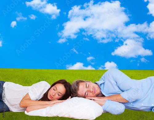 in ruhe schlafen