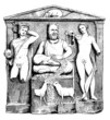 Gallo-Roman : Bas-Relief - Antiquity - Gods