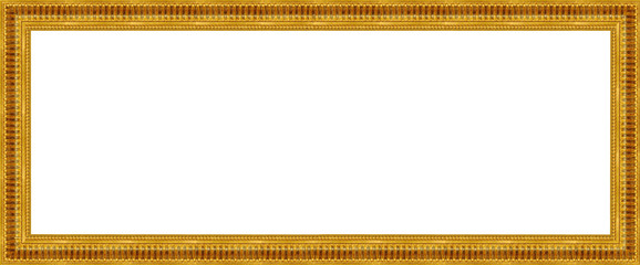 gold a picture frame