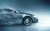 Fototapety car abstract concept