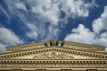 Bolshoi Theatre -- moscow, russia