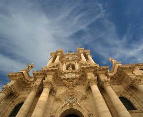 CATHEDRAL OF SYRACUSE-- sicily, italy