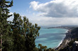 Panoramic landscape of the Mediterranean Sea