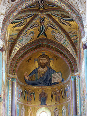 The Christ Pantokrator. Cathedral-Basilica of Cefalu