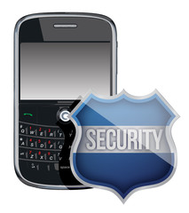 mobile phone security shield