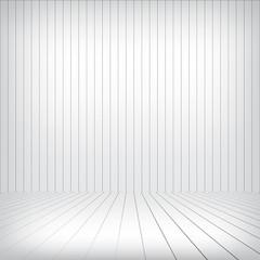 White wood interior