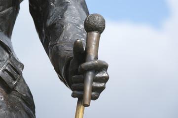 Switzerland, Montreux, Freddie Mercury monument