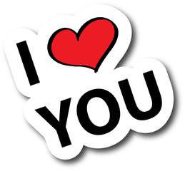 i love you - kiss
