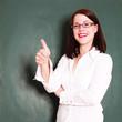 Lehrerin im Unterricht