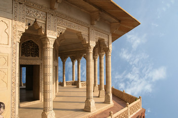 India, Agra, Red fort (UNESCO World Heritage)