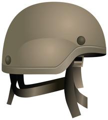 Modern combat helmets