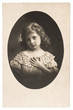 vintage nostalgic portrait of little girl
