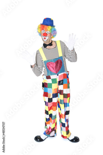 Lustiger Clown
