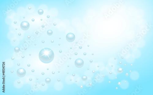 krople wody w chmurach © art_mike