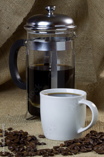 Coffee Mug and Cafetiere