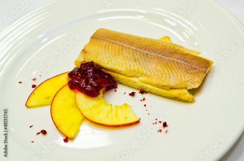 Herring with cranberry