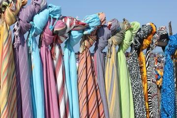 Tuchverkauf am Diani Beach, Kenia