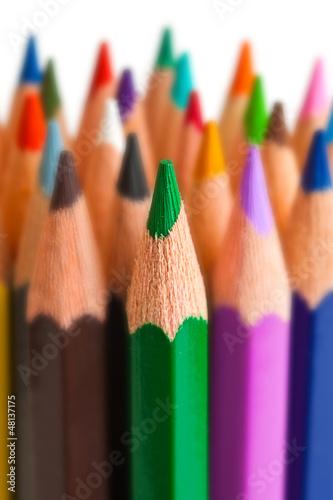 Viele Buntstifte