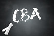 "Blackboard ""CBA - Cost-Benefit Analysis"""