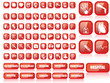 MEDICINE BUTTON MEGA SET 70 BUTTONS WIHT SHADOW
