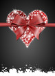 hearts with bow