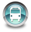 "Light Blue Glossy Pictogram ""Bus / Ground Transportation"""
