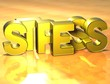 3D Word Stress on yellow background