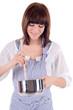 attraktive Hausfrau