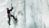 Fototapety Ice Climbing in South Tyrol, Italy