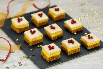 toasts pain d'épices mangue et foie gras 2
